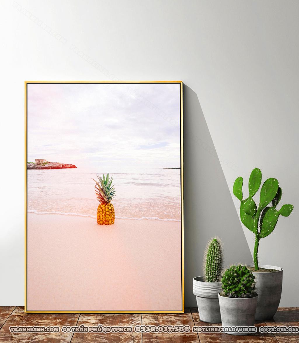 Tranh Canvas màu Pastel