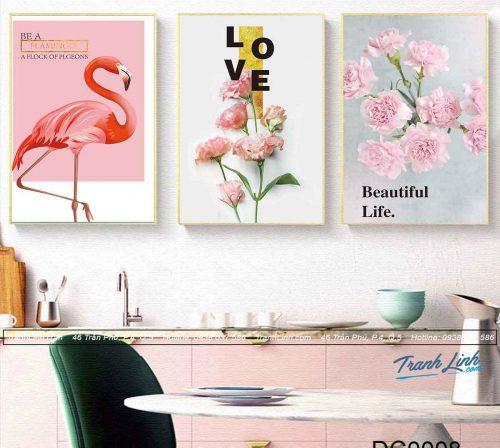 bo-tranh-canvas-trang-tri-decor-hong-hac-va-hoa-hong