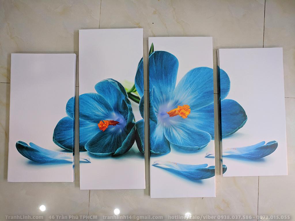 Tranh Canvas về hoa 3