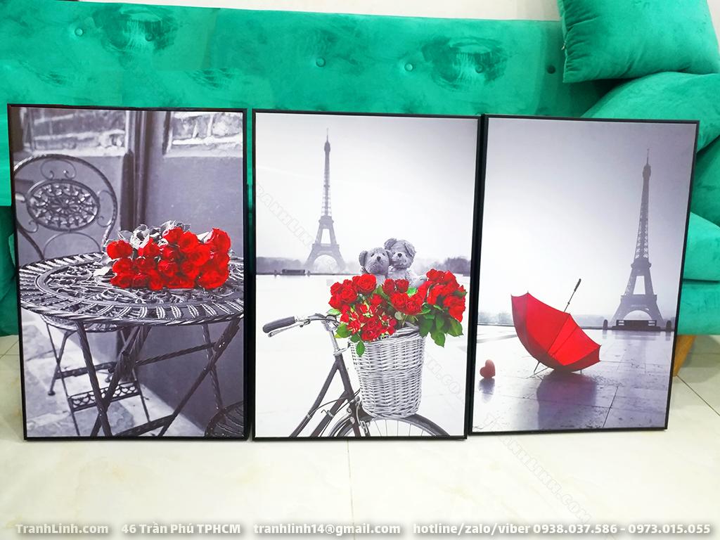 Tranh Canvas về hoa 6