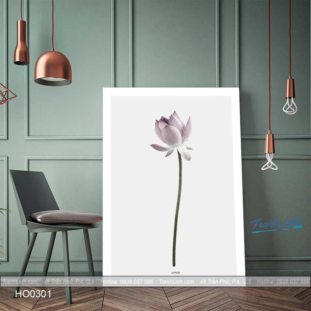 Bo tranh canvas hoa treo tuong trang tri phong khach 231