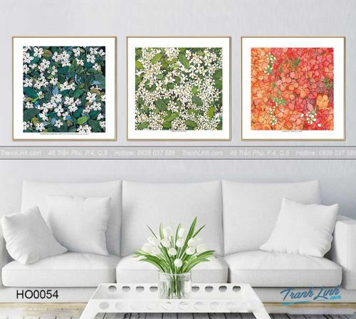 Bo tranh canvas hoa treo tuong trang tri phong khach 43