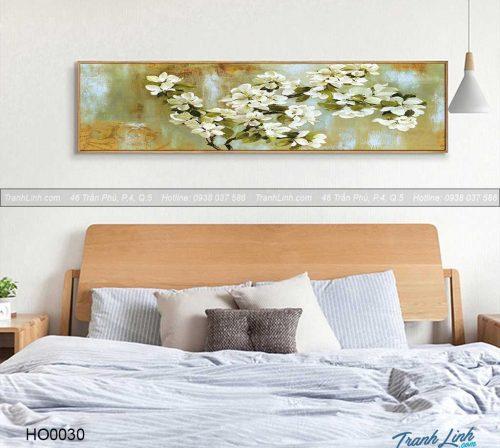 Bo tranh canvas hoa treo tuong trang tri phong ngu 10