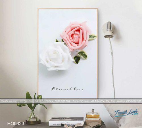 Bo tranh canvas hoa treo tuong trang tri phong ngu 57