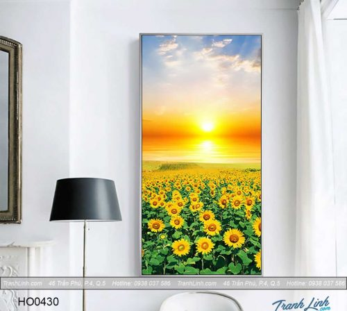 Bo tranh canvas hoa treo tuong trang tri phong ngu 71