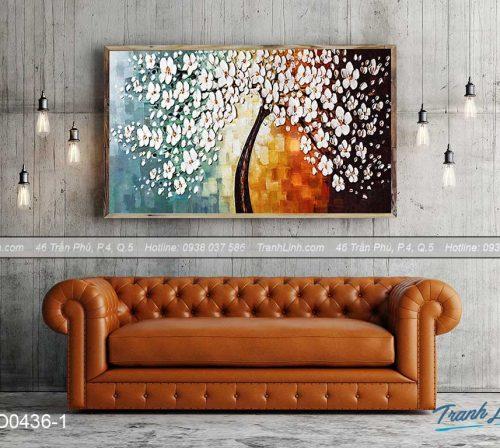 Bo tranh canvas hoa treo tuong trang tri phong ngu 72