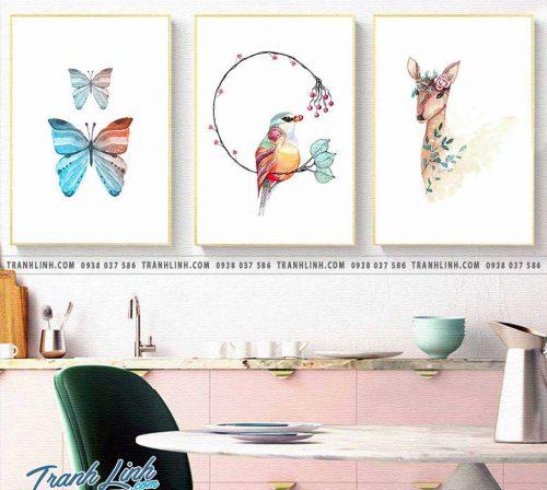 Bo tranh canvas treo tuong trang tri phong ngu 118