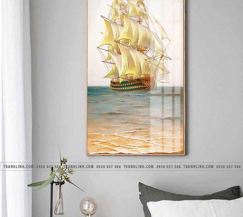 Bo tranh canvas treo tuong trang tri phong ngu 15