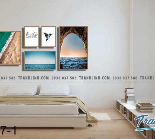 Bo tranh canvas treo tuong trang tri phong ngu 151