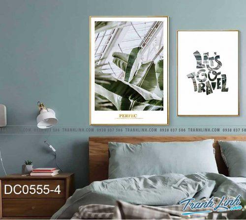 Bo tranh canvas treo tuong trang tri phong ngu 183