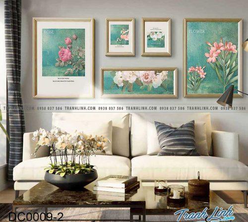 Bo tranh canvas treo tuong trang tri phong ngu 5