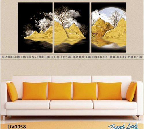 Tranh canvas treo tuong trang tri phong khach phong canh truu tuong 10