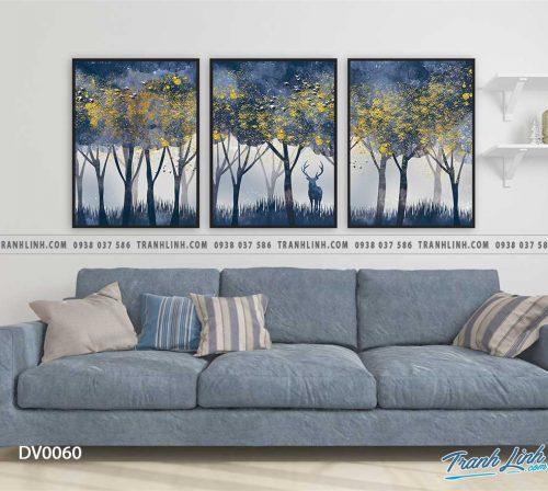 Tranh canvas treo tuong trang tri phong khach phong canh truu tuong 11
