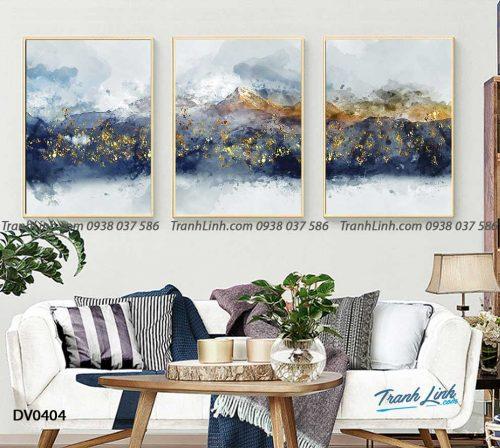 Tranh canvas treo tuong trang tri phong khach phong canh truu tuong 131
