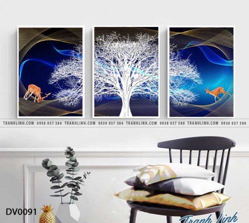 Tranh canvas treo tuong trang tri phong khach phong canh truu tuong 14