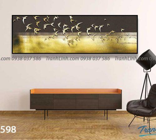 Tranh canvas treo tuong trang tri phong khach phong canh truu tuong 159