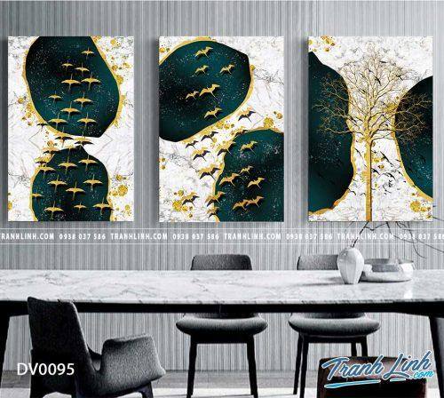 Tranh canvas treo tuong trang tri phong khach phong canh truu tuong 16