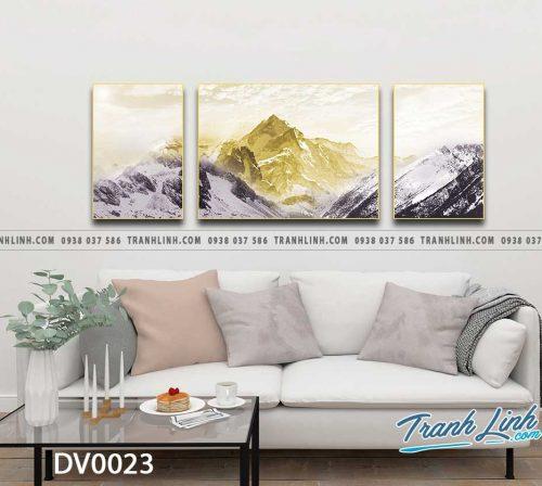 Tranh canvas treo tuong trang tri phong khach phong canh truu tuong 181