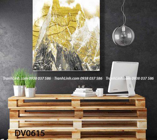 Tranh canvas treo tuong trang tri phong khach phong canh truu tuong 255