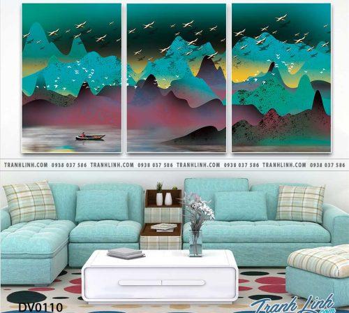 Tranh canvas treo tuong trang tri phong khach phong canh truu tuong 28