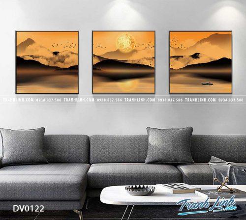 Tranh canvas treo tuong trang tri phong khach phong canh truu tuong 36