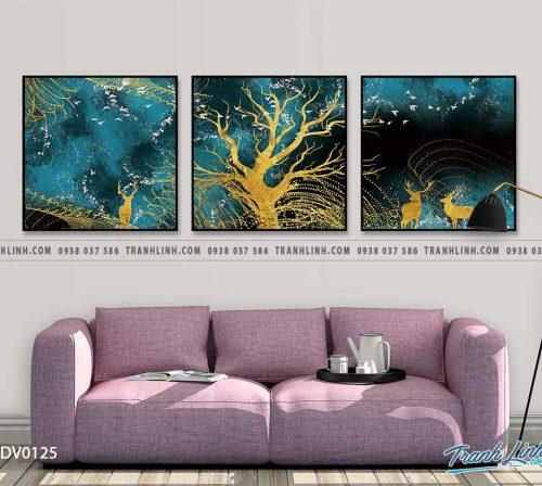 Tranh canvas treo tuong trang tri phong khach phong canh truu tuong 37