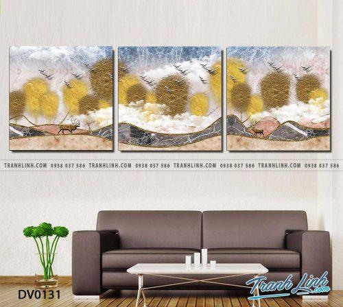 Tranh canvas treo tuong trang tri phong khach phong canh truu tuong 42
