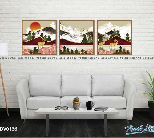Tranh canvas treo tuong trang tri phong khach phong canh truu tuong 47