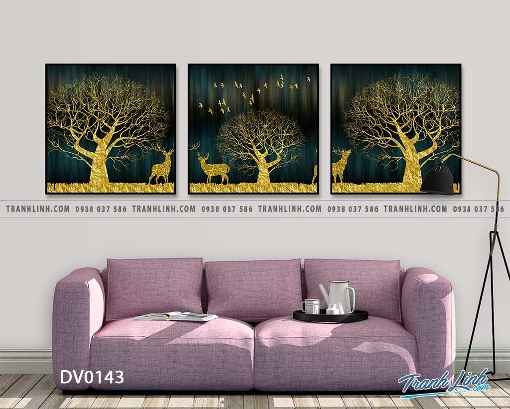 Tranh canvas treo tuong trang tri phong khach phong canh truu tuong 53