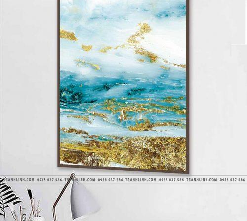 Tranh canvas treo tuong trang tri phong khach phong canh truu tuong 61