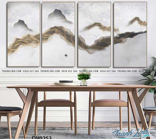 Tranh canvas treo tuong trang tri phong khach phong canh truu tuong 88