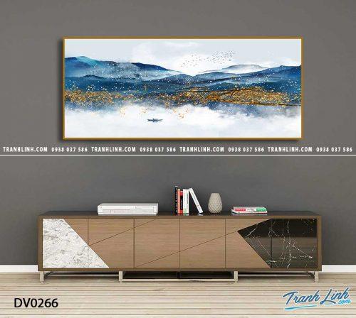 Tranh canvas treo tuong trang tri phong khach phong canh truu tuong 93