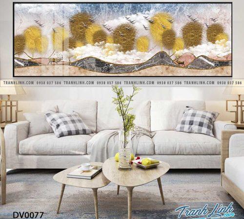 Tranh canvas treo tuong trang tri phong ngu phong canh truu tuong 15
