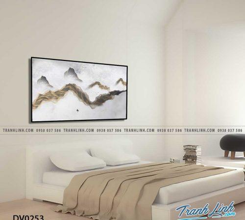 Tranh canvas treo tuong trang tri phong ngu phong canh truu tuong 35