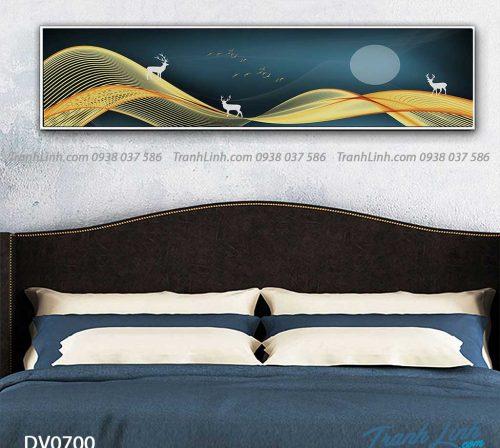 Tranh canvas treo tuong trang tri phong ngu phong canh truu tuong 73
