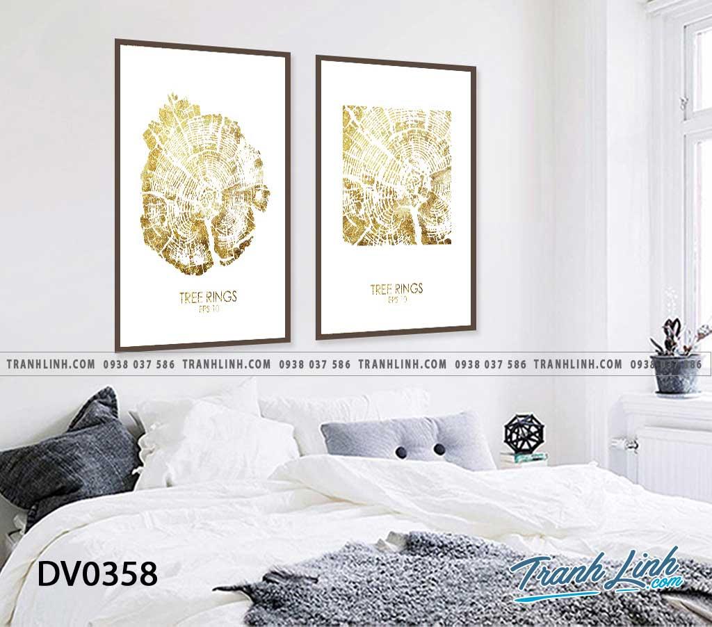 Tranh canvas treo tuong trang tri phong ngu van go truu tuong 5 1