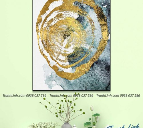 Tranh canvas treo tuong trang tri truu tuong 102