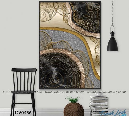 Tranh canvas treo tuong trang tri truu tuong 123