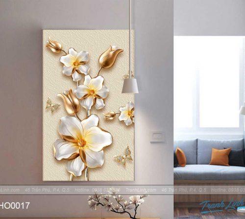 tranh canvas hoa treo tuong trang tri cau thang 2