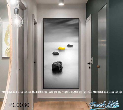 Bo tranh Canvas treo tuong trang tri phong khach phong canh PC0030