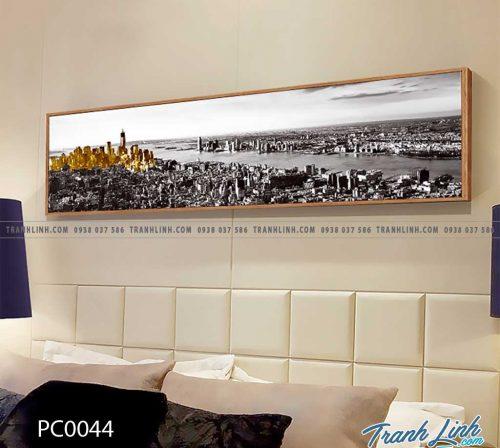 Bo tranh Canvas treo tuong trang tri phong khach phong canh PC0044