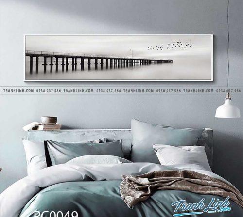 Bo tranh Canvas treo tuong trang tri phong khach phong canh PC0049