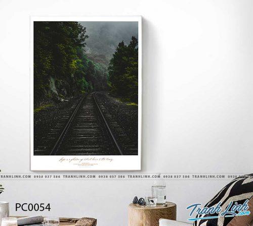 Bo tranh Canvas treo tuong trang tri phong khach phong canh PC0054