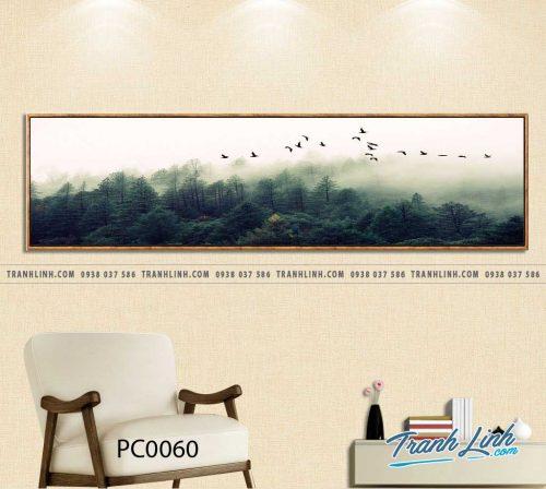 Bo tranh Canvas treo tuong trang tri phong khach phong canh PC0060