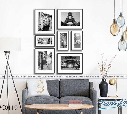 Bo tranh Canvas treo tuong trang tri phong khach phong canh PC0119