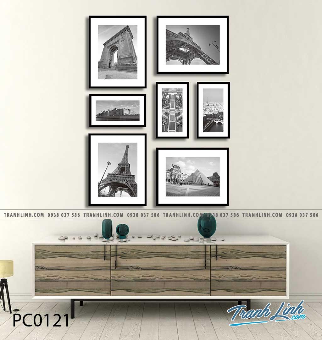 Bo tranh Canvas treo tuong trang tri phong khach phong canh PC0121