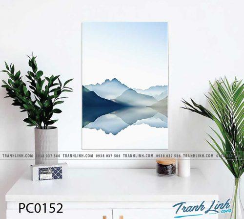 Bo tranh Canvas treo tuong trang tri phong khach phong canh PC0152