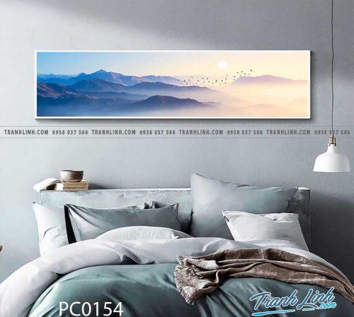 Bo tranh Canvas treo tuong trang tri phong khach phong canh PC0154