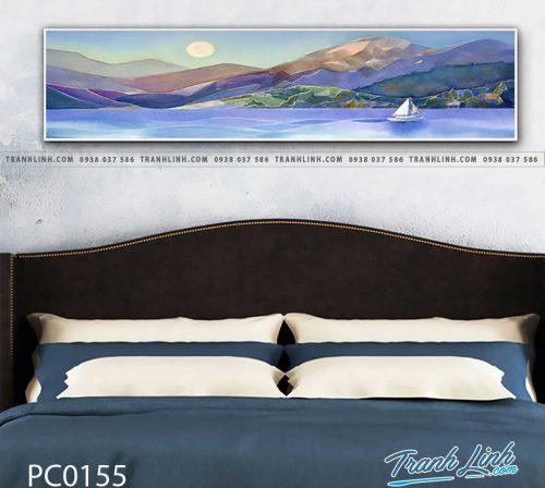 Bo tranh Canvas treo tuong trang tri phong khach phong canh PC0155