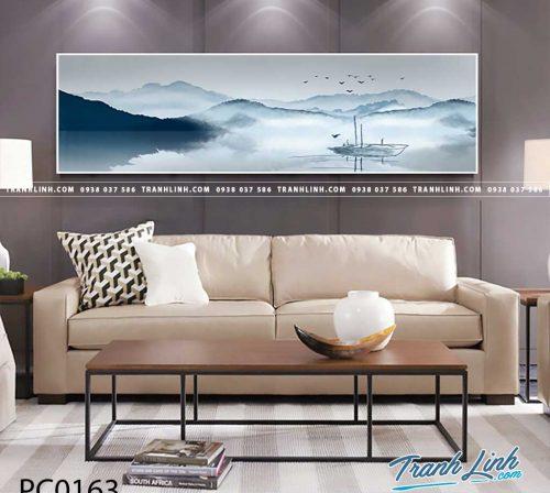 Bo tranh Canvas treo tuong trang tri phong khach phong canh PC0163